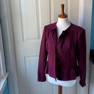 Purple Nanette Lepore jacket , blazer large